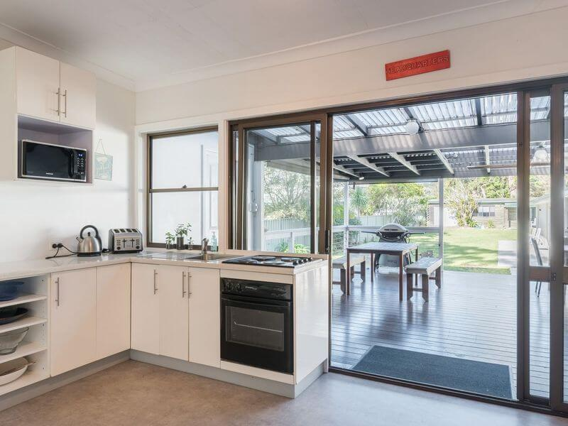 air bnb accommodation for large families Bundeena